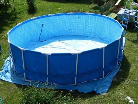 ремонт бассейнов пвх