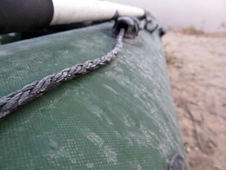 установка леерного шнура до 1 м